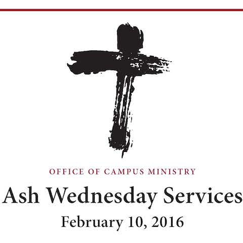 Ash Wednesday 2016 Tile