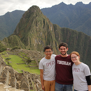 IPED Students at Machu Picchu