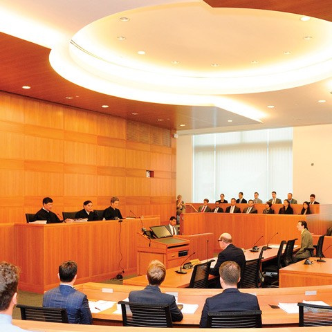 FLS Moot Court Sitting