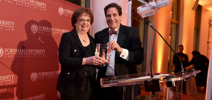New York Solicitor General Barbara Underwood Receives Fordham-Stein Prize