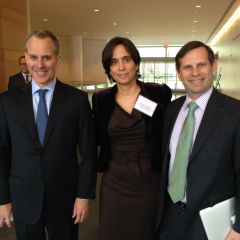 Photo of Reidenberg, Schneiderman, Sanchez