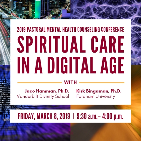 Announcement of the 2019 Pastoral Mental Health Counseling Conference
