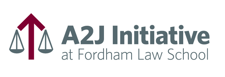 A2J Initiative at Fordham Law School in New York City