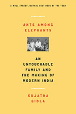 Ants Among Elephants Book Cover - Sujatha Gidla