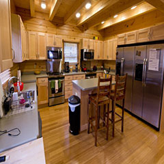 Calder Cabin Kitchen