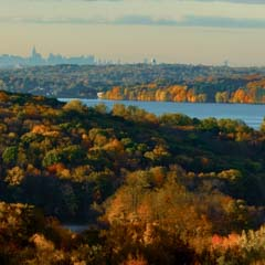Landscape view of NY from Calder - SM