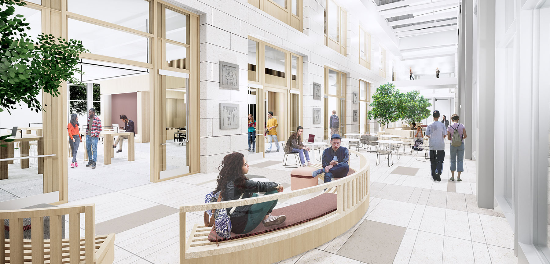 New Campus Center will Offer Ample Space to Relax and Recharge