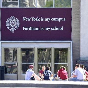 New York is my Campus, Fordham is my School