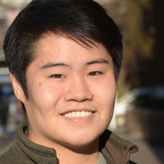 Conner Chang, Fordham Founder's Undergraduate Scholarship recipient.