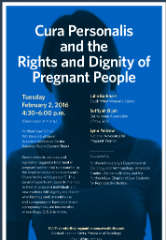 Cura personalis and the Rights and Dignity of Pregnant People