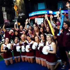 Dance and Cheer at Good Morning America