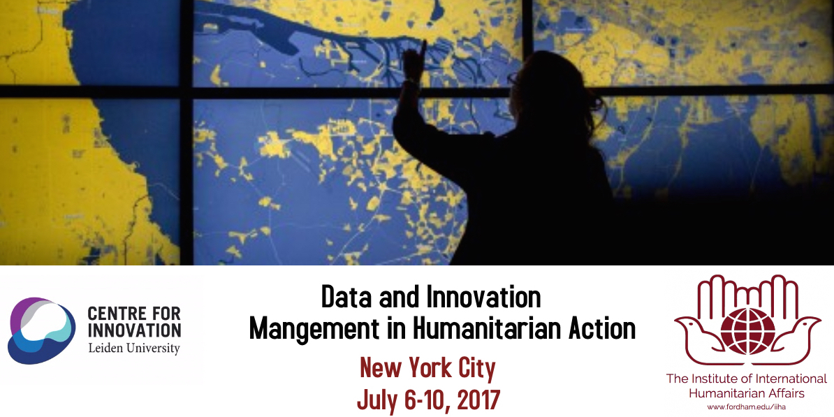 Data and Innovation Management in Humanitarian Action