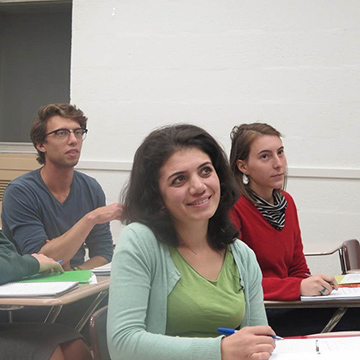 Graduate Students in Class