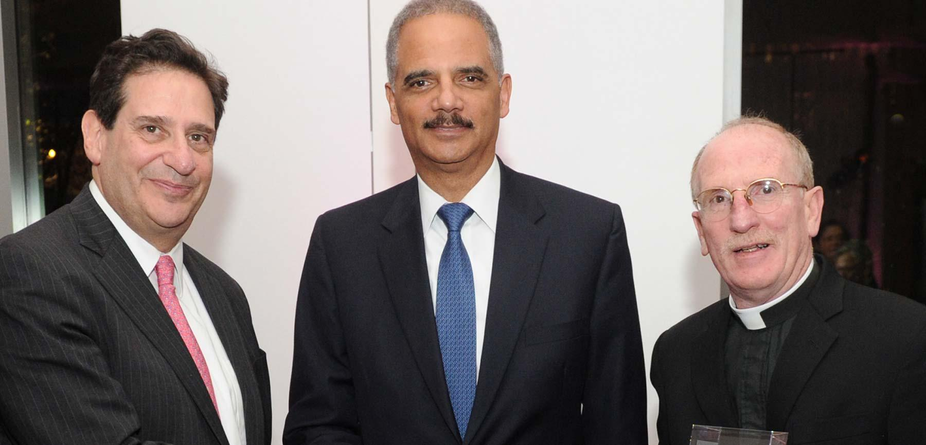 Fordham Law Stein Prize Recipient Eric H. Holder