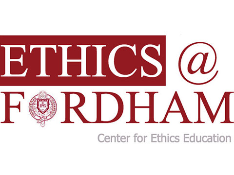 Ethics at Fordham Logo