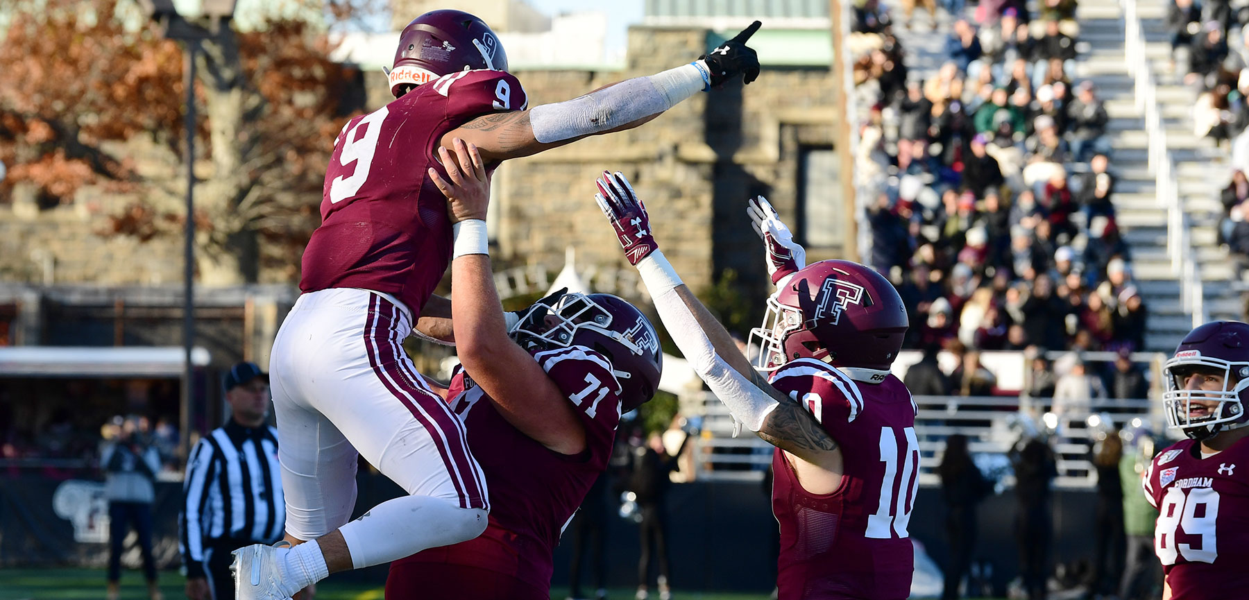 Fintech Firm, Fordham Football Team Up for Internship Program