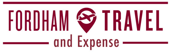 Fordham travel and expense logo