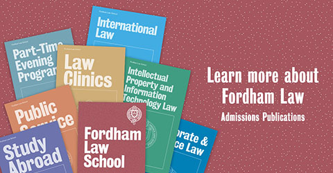 Learn more about Fordham Law