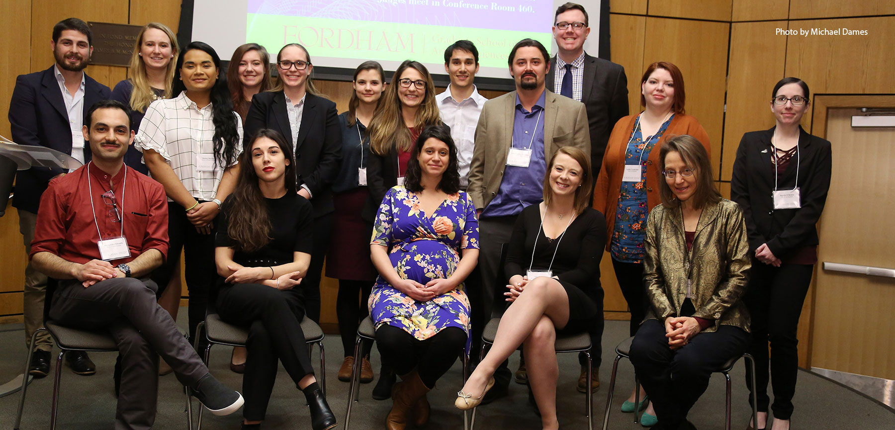3MT® Competition Showcases GSAS Students' Research and Communications Skills