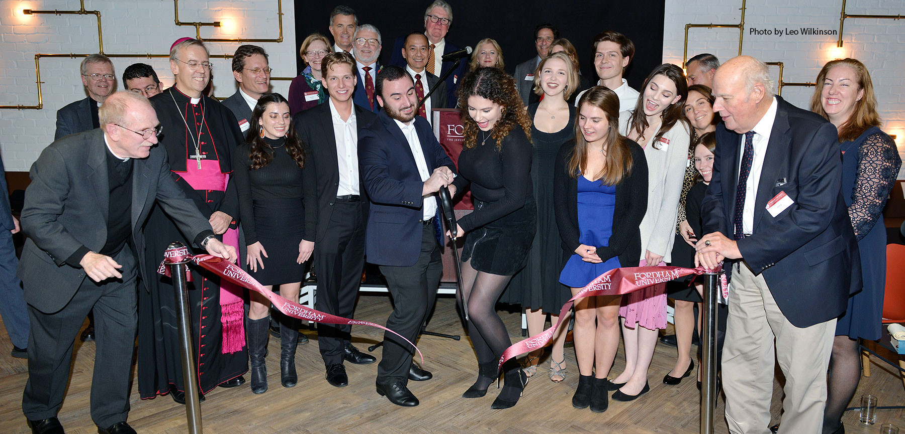 Fordham Opens New London Centre