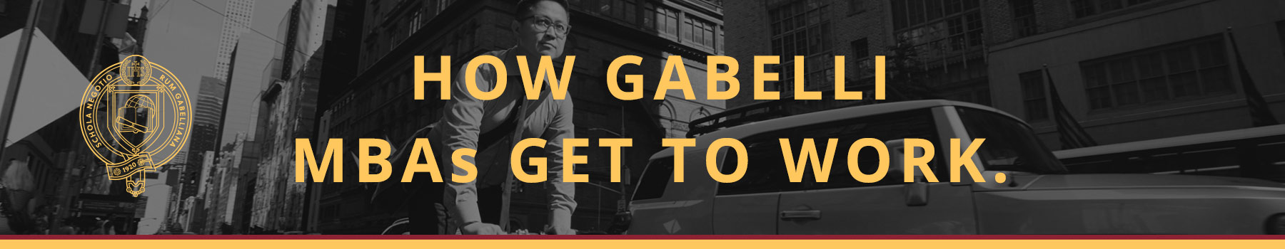 How Gabelli MBAs get to work