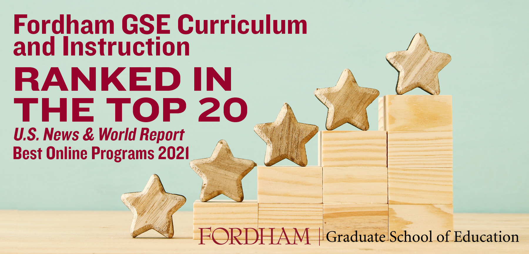 U.S. News & World Report: GSE Curriculum & Instruction Online Program in Top 20