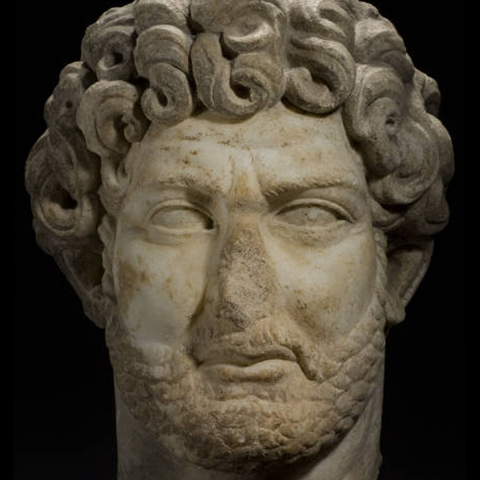 Portrait of Hadrian