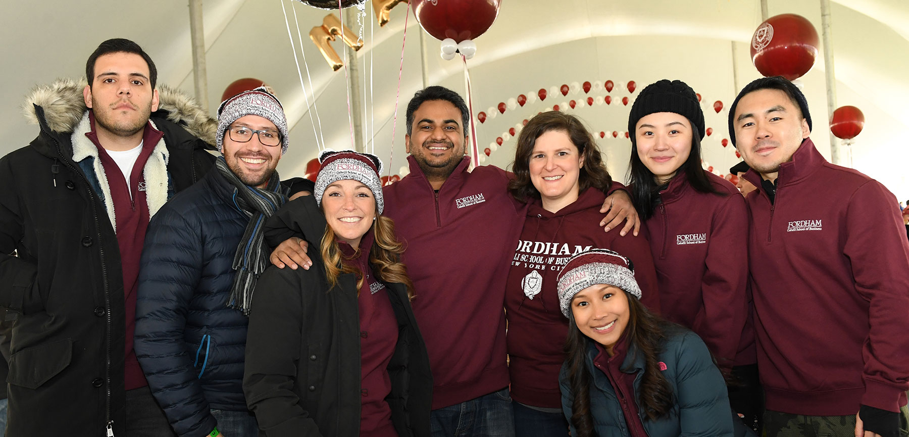 Homecoming Brings Out Fordham Faithful