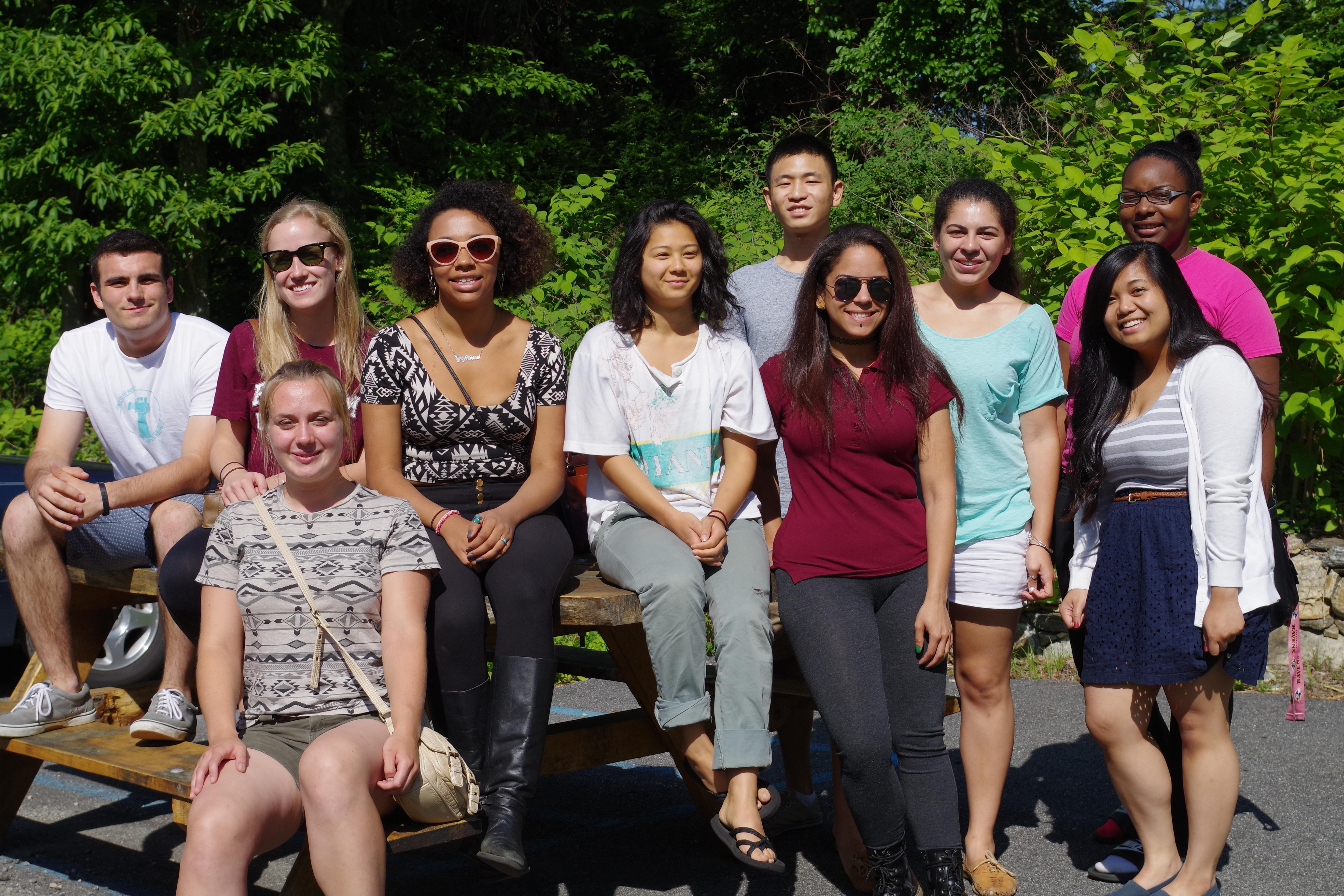 Undergraduates of CSUR at Calder Center