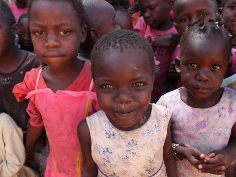 Children from the Every Girl is Important project in Eldoret, Kenya