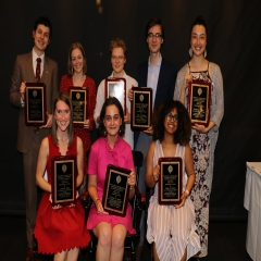 2019 Senior Leadership Awards Recipients at Lincoln Center