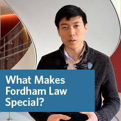 What Makes Fordham Law Special?