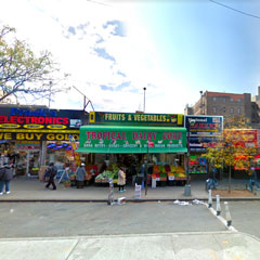 Jerome Ave fruit stand
