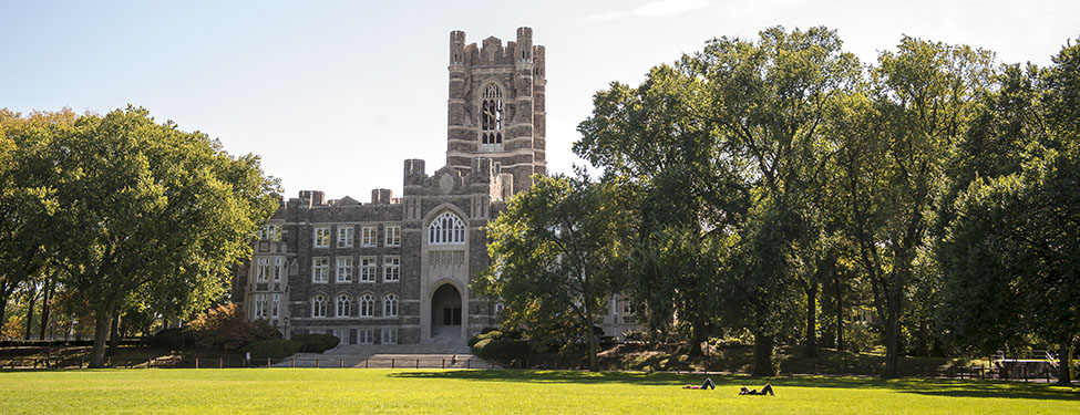 Keating Hall overlooking Edward's Parade