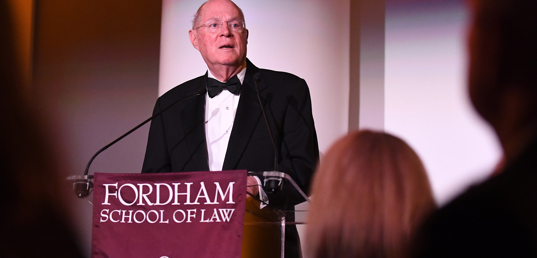 Supreme Court Justice Anthony M. Kennedy Receives Fordham-Stein Prize