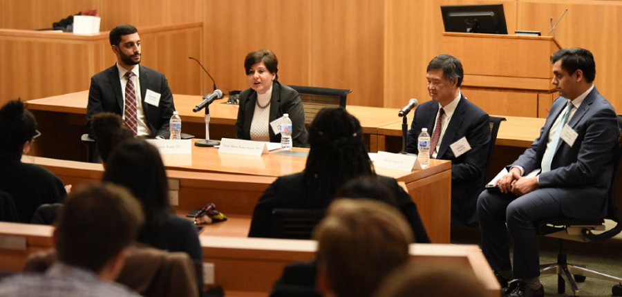 panel photo of First to the Bench: A Discussion with First Generation Judges on the Federal and State Courts