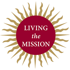 Fordham's Living the Mission campaign