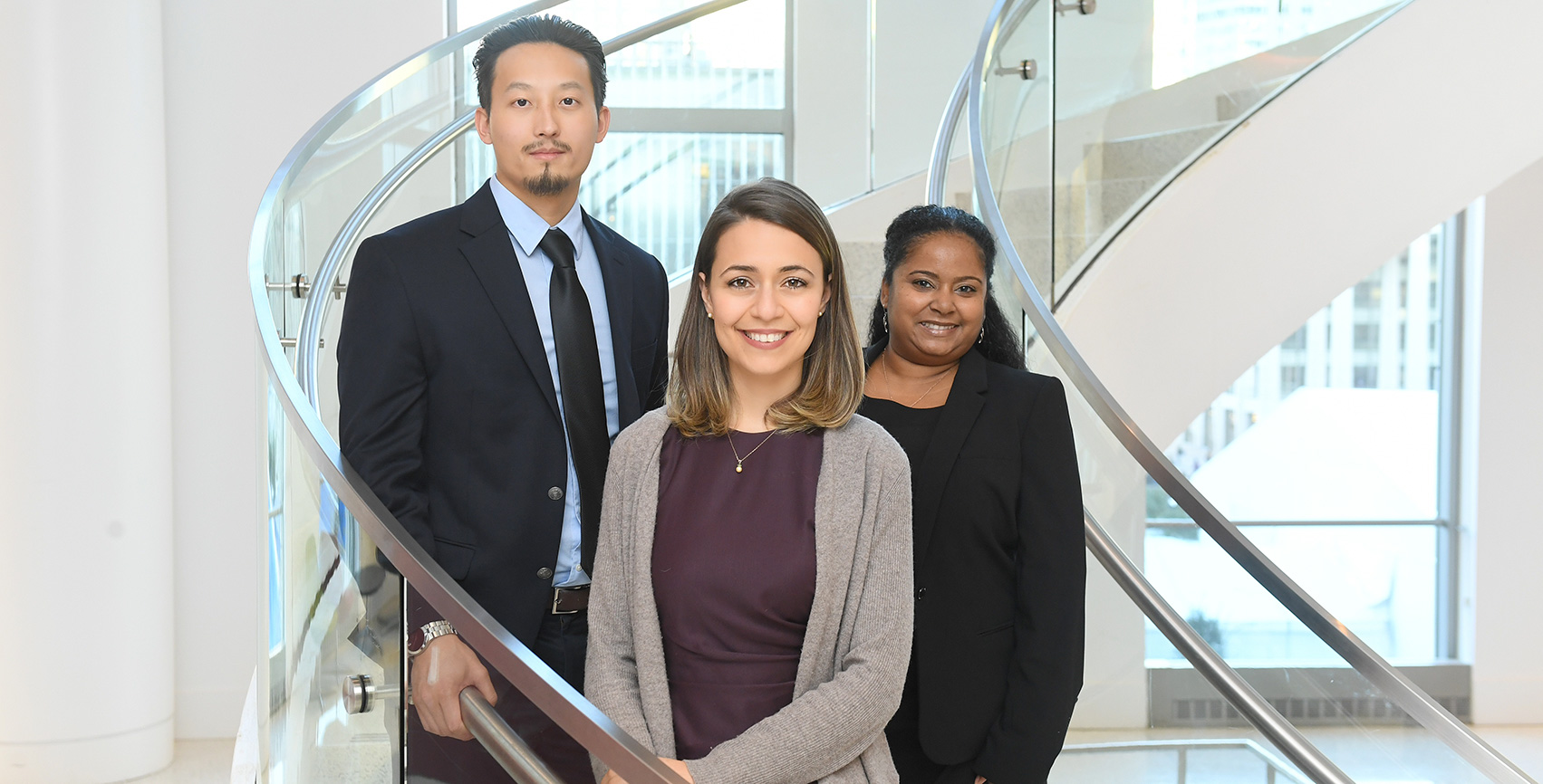 Students in the Fordham Law MSL in Compliance Program