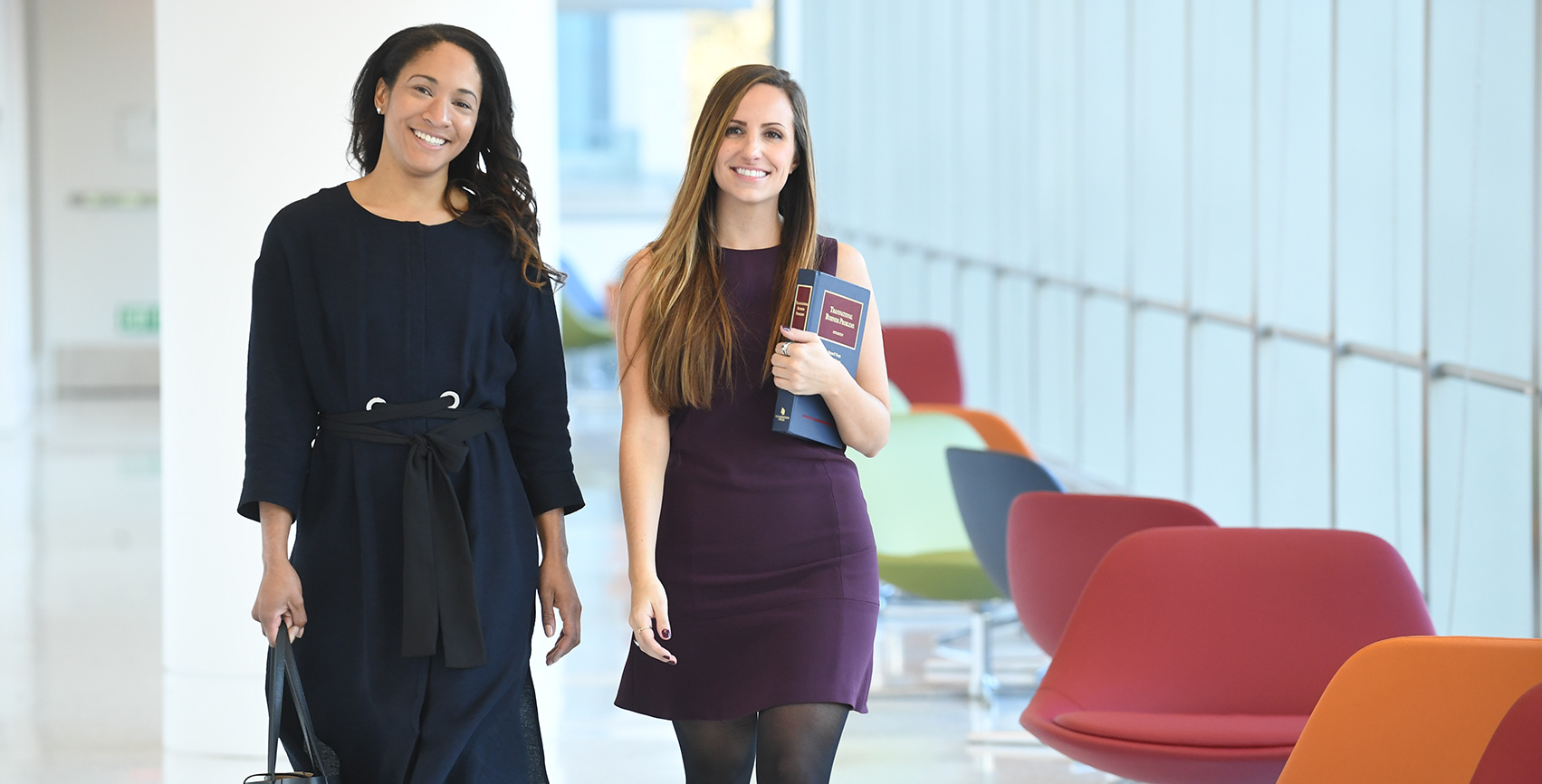 Students in the Fordham Law MSL in Fashion Law Program