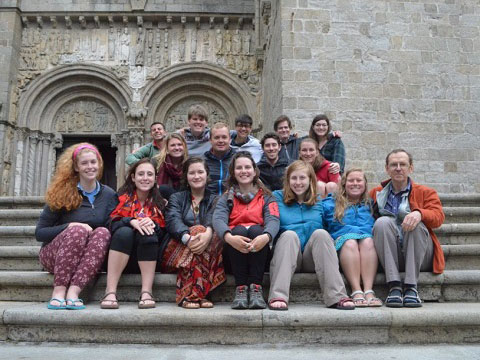 Medieval Studies Class at Camino di Santiago