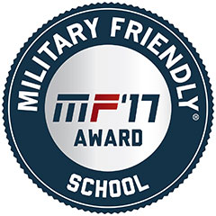 Military Friendly School Award logo