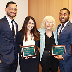 Fordham Law's Moot Court team won the 19th Annual Pepperdine Entertainment Law Moot Court Competition.