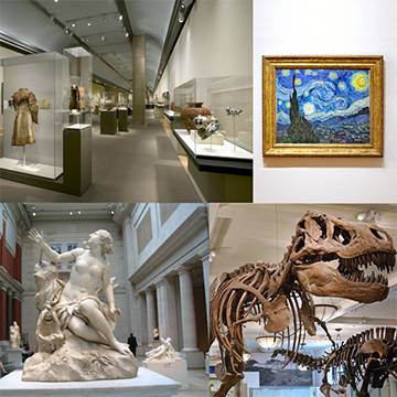 Museums Collage