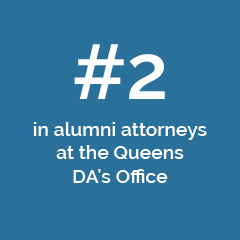 #2 in alumni attorneys at the Queens DA's office