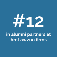 #12 in alumni partners at AmLaw200 firms