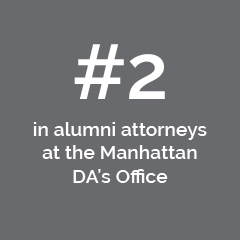 #2 in alumni attorneys at the Manhattan DA's Office