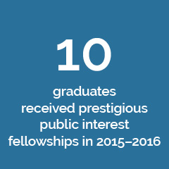 Network Effect fact about public interest fellowships