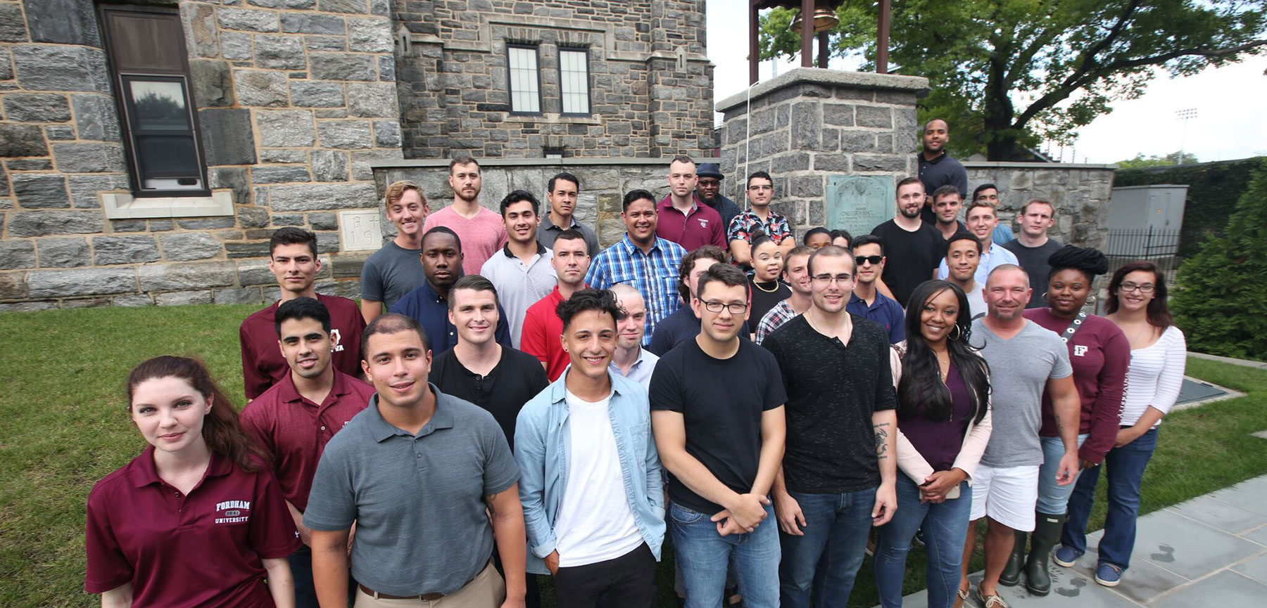 [Fordham Veterans Association Welcomes New Students]