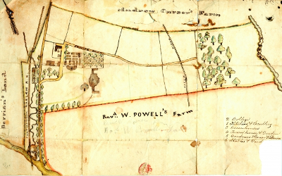 Rose Hill Farm Map