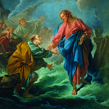 St. Peter Attempts to Walk on Water 1766
